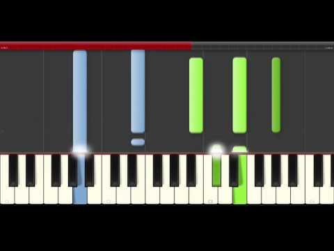 Road to Perdition The Farm  Piano midi tutorial sheet partitura