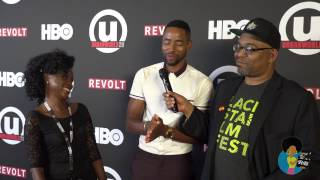 Leila Djansi & Jay Ellis - Like Cotton Twines (Urbanworld 2016 Interview)