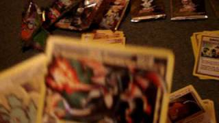 Opening random pokemon booster packs (Star Pull)