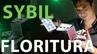 Florituras con Cartas, Manipulación de Cartas, SYBIL CUT (CORTE): Floritura tipo Dynamo Shuffle)