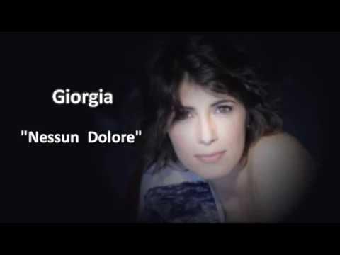Giorgia - Nessun Dolore (Video karaoke)