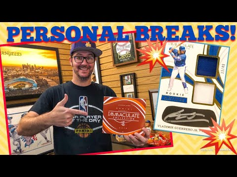 MONDAY NIGHT BREAKS #15!! Personal Breaks Just For You!