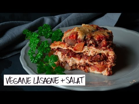 2 VEGANE TOFU REZEPTE</br>Lasagne & Tofu-Salat