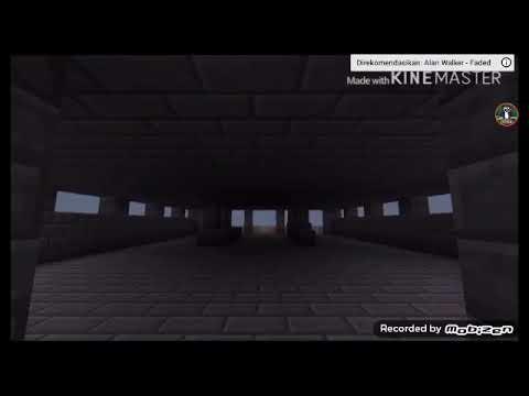 Alan Walker-faded Minecraft Animasi