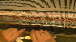 Вязание кос на двух фонтурах