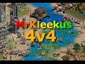 Age of Empires II - 4v4 | Archipelago