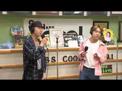 170816 WINNER - LOVE ME LOVE ME live at KBS Volume Up Radio