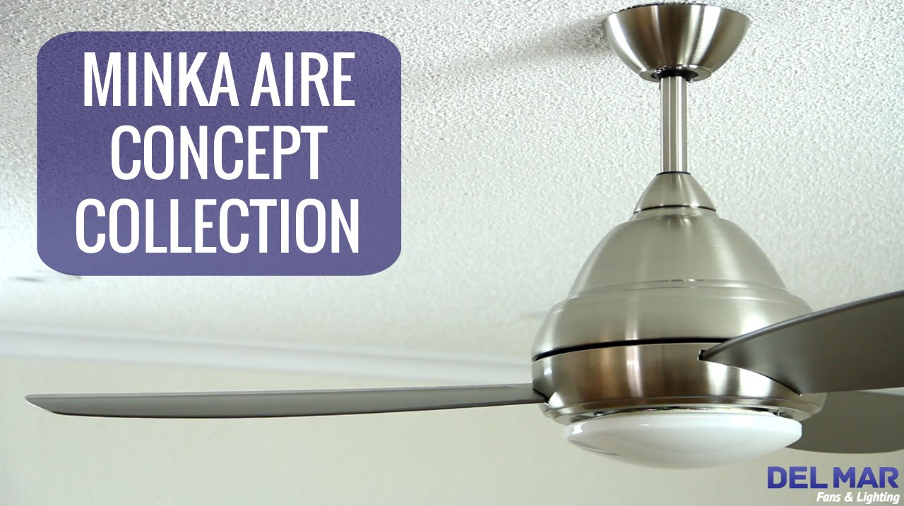Minka aire concept ceiling fan collection youtube minka aire concept ceiling fan collection aloadofball Choice Image