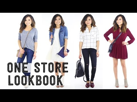 One Store Lookbook | Old Navy Fashion | Casual Everyday Outfits | Miss Louie