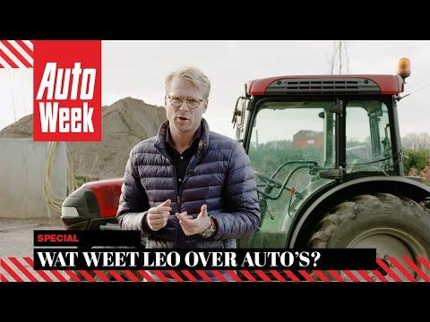 Wat weet acteur Leo Alkemade over auto's?  AutoWeek Quiz