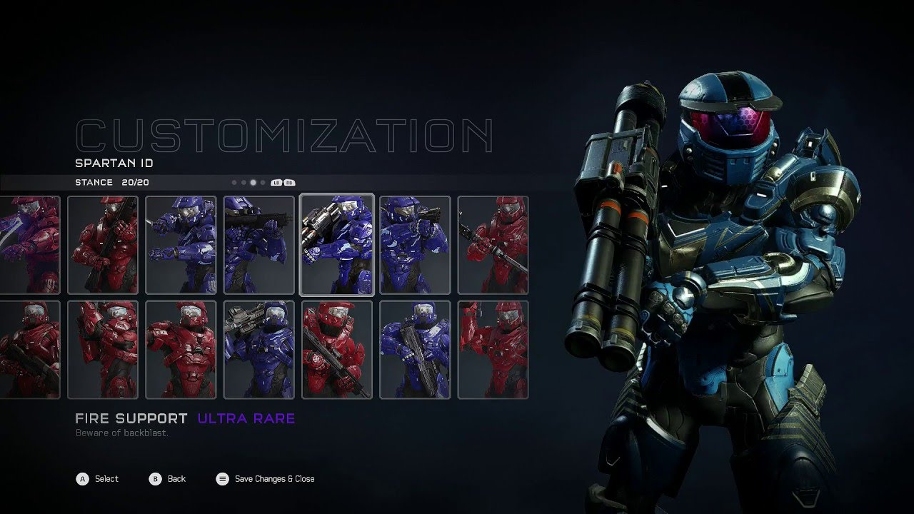 how to get speicific armor in halo 5