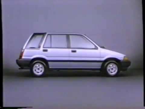 1985 Honda Civic Wagon It Looks Well It Has A Great Personality