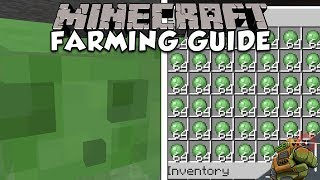 how To Make An Effective Slime Farm  Minecraft Farming Guide