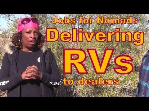 Jobs for Nomads: Delivering RVs