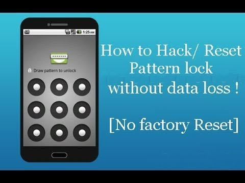 How To Unlock Android Pattern Or Pin Lock Without Losing Data YouTube Custom How To Unlock Htc Pattern Lock Without Losing Data