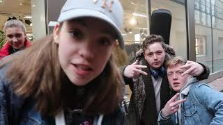 Interview with some of Grafton Street's finest