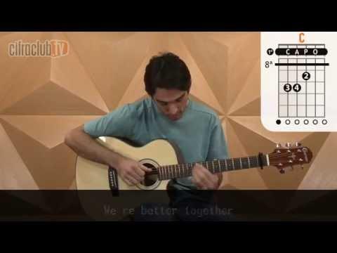 Better Together - Jack Johnson (aula de violão completa)