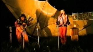 Оксана и Саша Бедняковы.  Девушка пела...    1998г.  Юца.