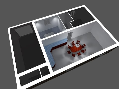 Dialux Evo Tutorial  Part 1 - How to create a room and clean & prepare your CAD file