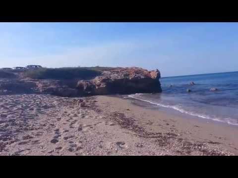 Spiaggia pulita mare azzurro e cristallino calette inesplorate torre specchia ruggeri lecce - Torre specchia spiaggia ...