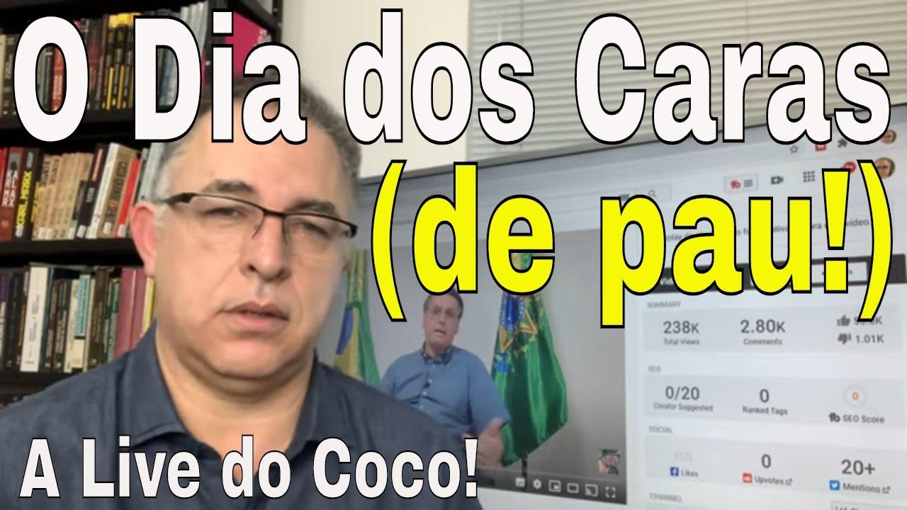 Bolsonaro: água de coco na veia? Bolsonaristas em desespero! Que chá é esse? Guedes ataca educação!