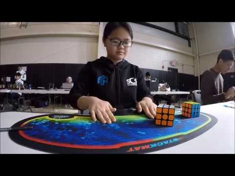 7.91 Official 3x3 Average! [FEMALE WORLD RECORD]
