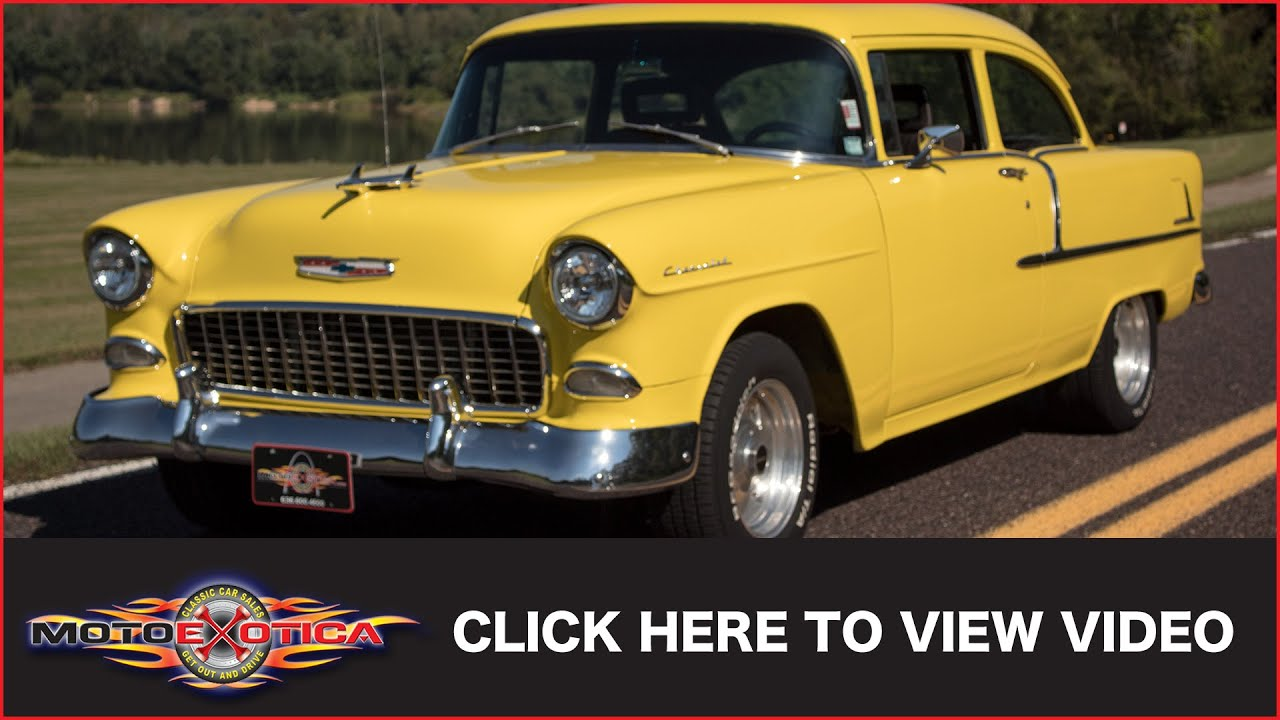 1955 chevy 210 sedan mitula cars - 1955 Chevrolet 210 Sold Motoexotica Classic Cars