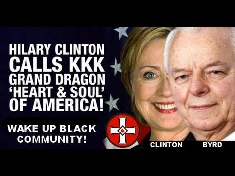 Image result for KKK Leader and Hillary