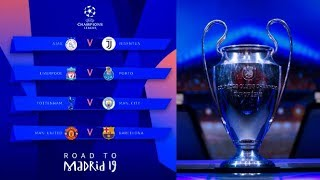 PRONOSTIC TIRAGE AU SORT 1/4 DE FINALE CHAMPIONS LEAGUE !