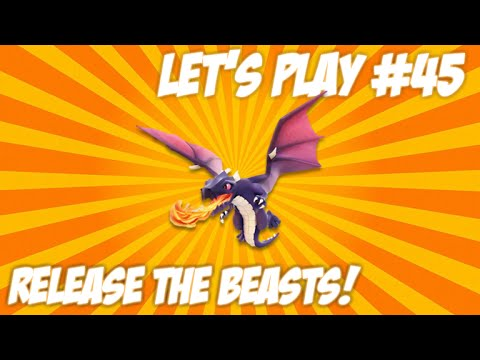CLASH OF CLANS | LET'S PLAY RELEASE THE BEASTS!! - Hog Rider Upgrades Live Episode 45