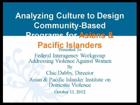 Cultural Responsiveness: Analyzing culture to design responses | Webinar by API-GBV 10/11/12