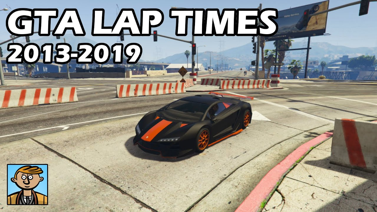 Fastest Cars From Each Year (2013-2019) - GTA 5 Best Fully Upgraded Cars Lap Time Countdown