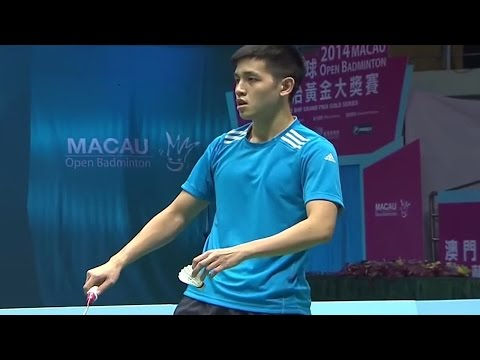 |F| Match 4 Macau Open Badminton Championships 2014