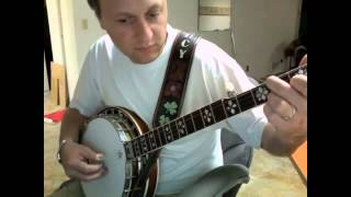 How to play Blue Moon of Kentucky - banjo break