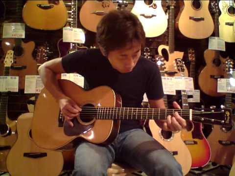Dolphin Guitars - Martin 000-28 (1936') - Demo by Takayuki
