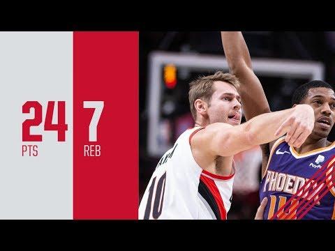 Jake Layman (Career High 24 points) Highlights vs. Phoenix Suns | December 6, 2018