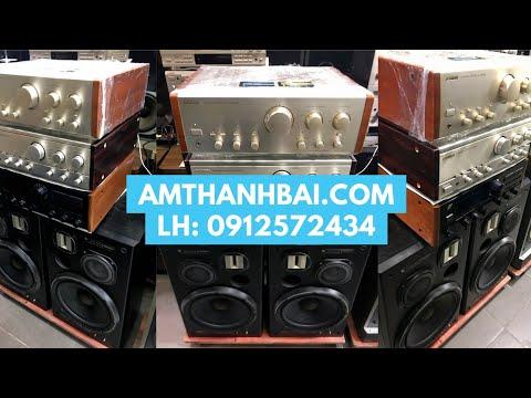 Test Ampli SANSUI 607XR hồi gỗ zin & Loa PIONEER S-1800DV cho khách HN - Audio Bãi Nhật - 0912572434