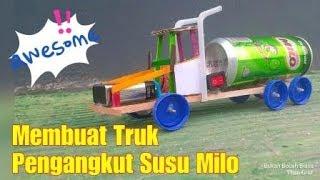 Video Mengagumkan! Cara Membuat Mainan Truk dari Stik Eskrim dan Kaleng Bekas download MP3, 3GP, MP4, WEBM, AVI, FLV Oktober 2018