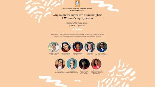 Why women's rights are human rights: A Women's Equity Salon