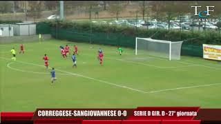 Serie D Girone D Correggese-Sangiovannese 0-0