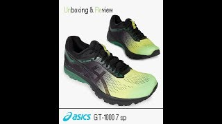 Asics GT-1000 7 sp Running Shoe UNBOXING & REVIEW