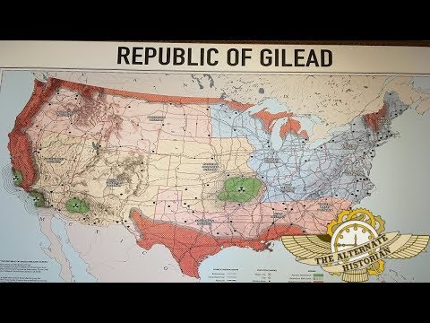 What Is Happening Inside The Republic Of Gilead A Map Analysis Youtube