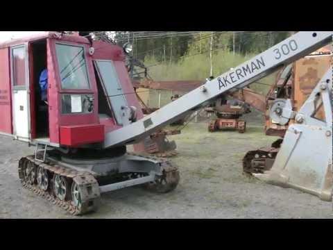 Åkerman 300 Lingrävmaskin / Cable backhoe