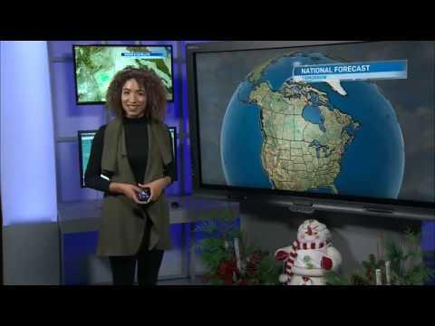Weather Anchoring 11 - CTV Regina