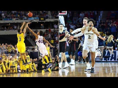 Michigan basketball: Trey Burke's 2013 shot against Kansas vs. Jordan Poole's buzzer-beater