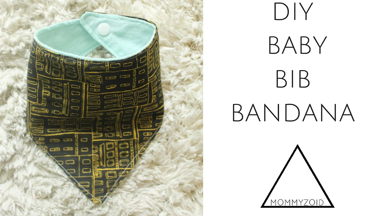Diy baby bib bandana mommyzoid youtube baditri Images