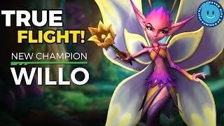 NEW DAMAGE CHAMPION WILLO (FAIRY) IS HERE! 10 SECONDS OF FLIGHT?! Paladins Patch OB 49