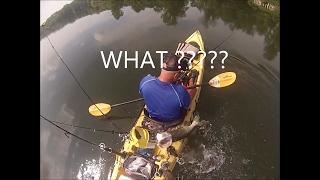 may 2015 muskie kayak fishing at marsh creek lake