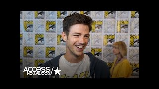 'The Flash': Grant Gustin On Crossover, Welcoming Tom Felton To The Cast   Access Hollywood