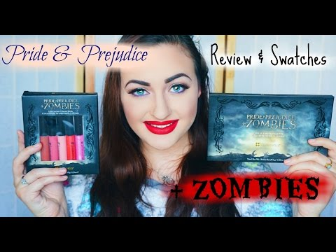 SWATCHES + REVIEW :Pride & Prejudice & Zombies Collection Bh Cosmetics | Rosa Klochkov